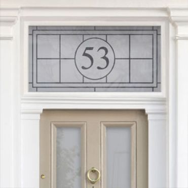 Bespoke House Number Stickers Made Easy By Purlfrost