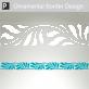 Eretria Ornamental Border Sticker