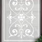 Polly Victorian Frosted Door Pattern