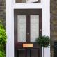 Ada Victorian Frosted Door Pattern