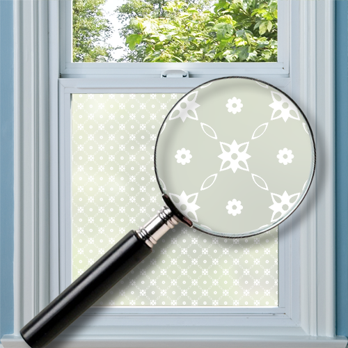 Bedford Patterned Window Film
