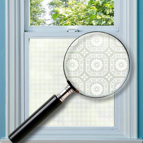 Hitchin Patterned Window Film