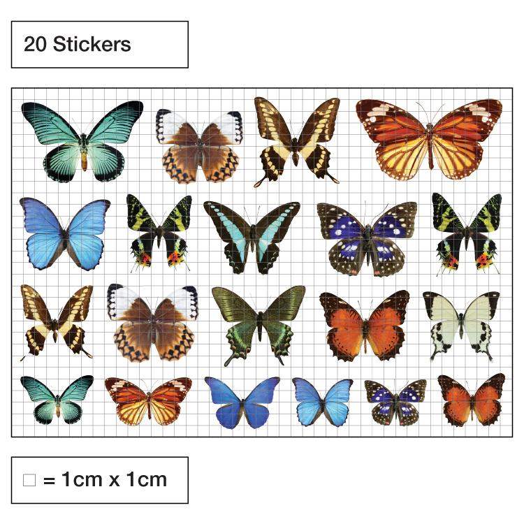 Butterfly Decorative Window Stickers Purlfrost