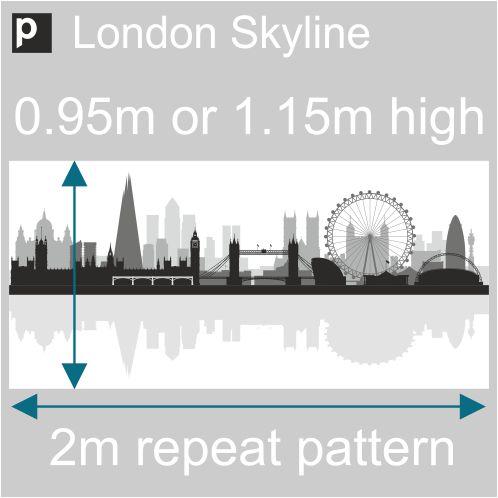 London skyline frosted window film london skyline frosted window film