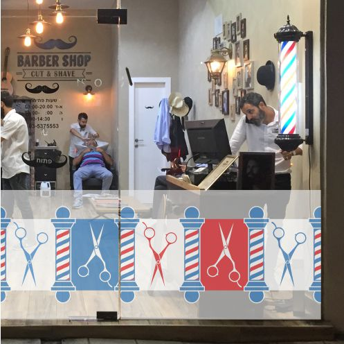 Banner for Barber Shop Window 1