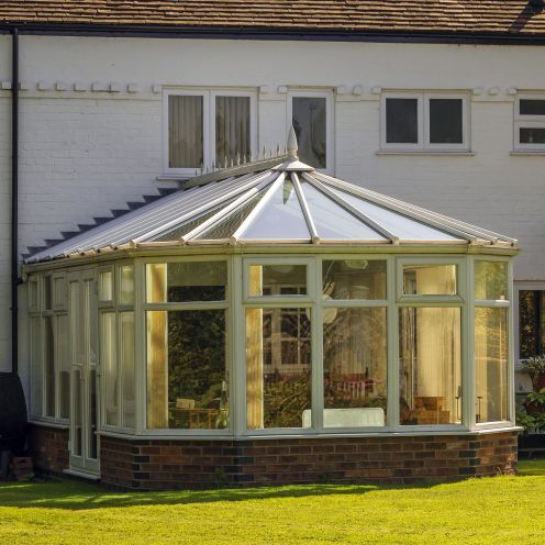 Conservatory Window film by Purlfrost