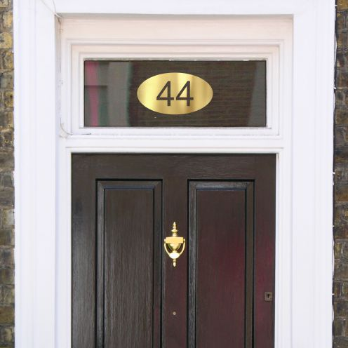 House Number Sticker HNC 4B