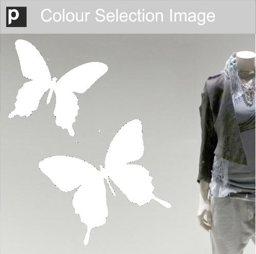 Butterfly Shop Window Stickers Purlfrost