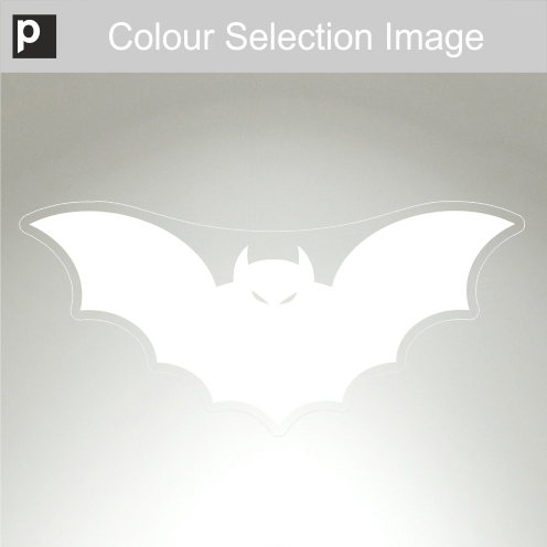 Large Spooky Bat Sticker