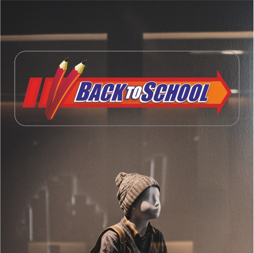 Arrow Back To School Sticker