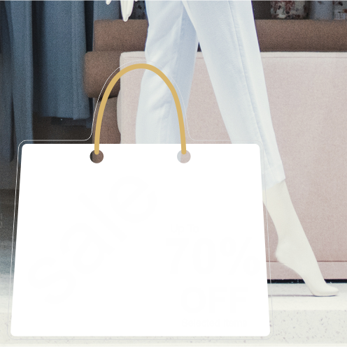 Bag 70% Discount Sticker