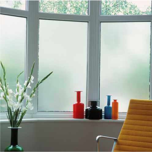 Plain Frosted Window Film