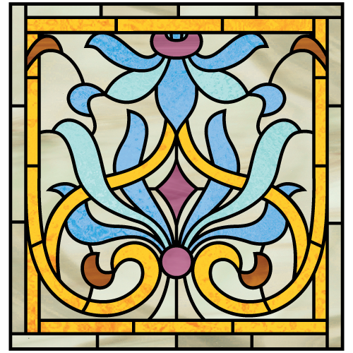 Morris a for Art nouveau shapes