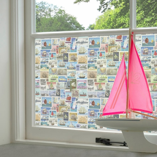 Boat Stamps Window Film