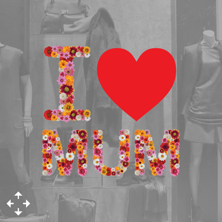 I Love Mum Flowers