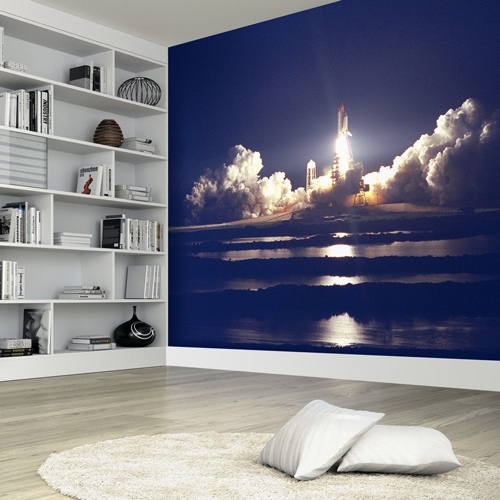Shuttle Launch Wall Mural