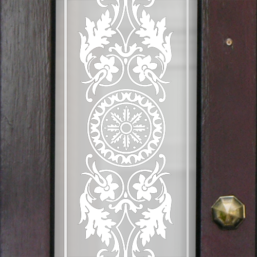 Lily Victorian Frosted Door Pattern