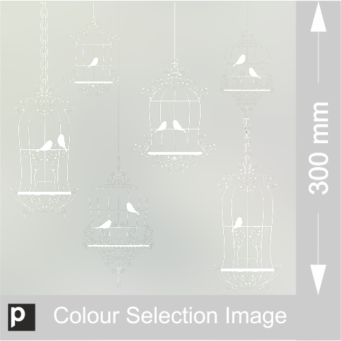 Bird Cages Border Design