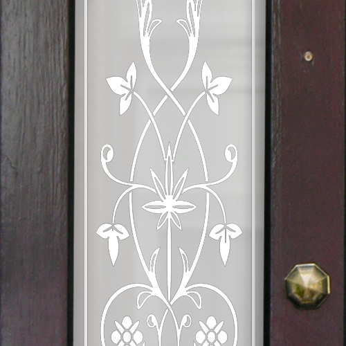 Mary Victorian Frosted Door Pattern