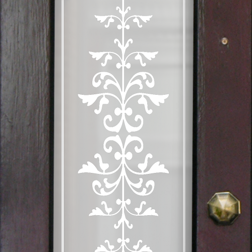 Sarah Victorian Frosted Door Pattern