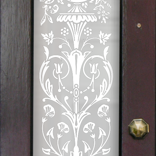 Ruth Victorian Frosted Door Pattern