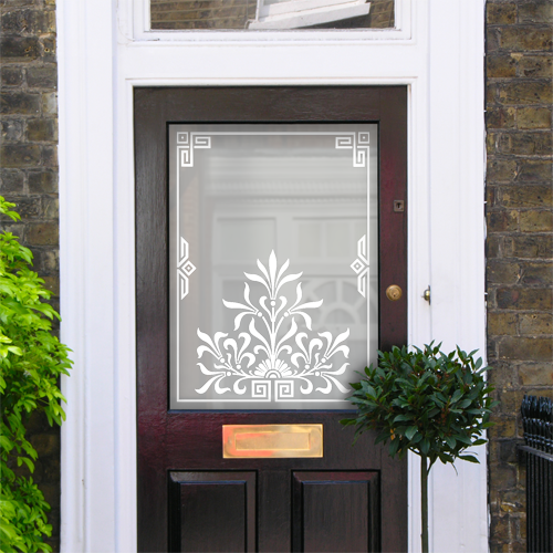 Mercy Victorian Frosted Door Pattern