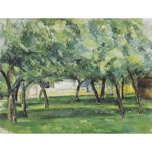 Cezanne, Orchard in Normandie