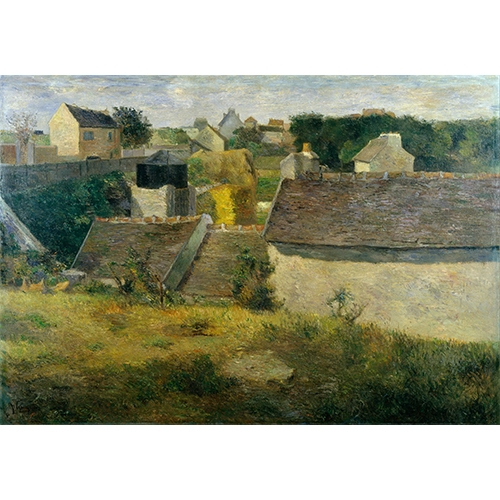 Gauguin, Houses at Vaugirard
