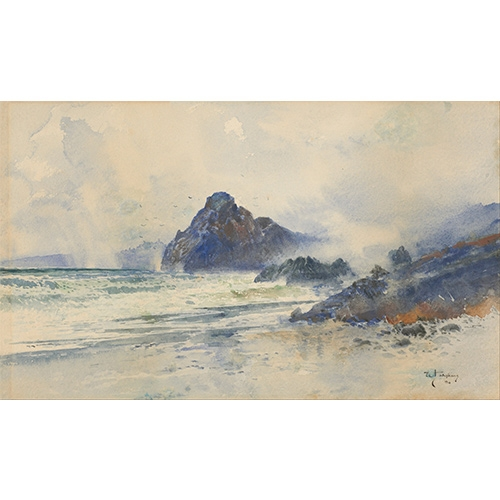 Hodgkins, A Wet Day on a Wild Coast