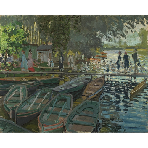 Monet, Bathers at la Grenouillere