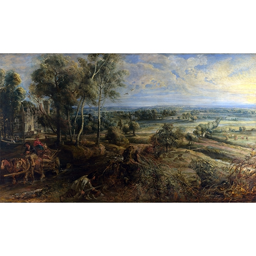 Rubens, A view of Het Steen
