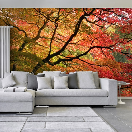 Autumn Tree Wall Mural