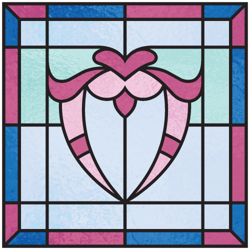 Correct Order To Read Stained Glass