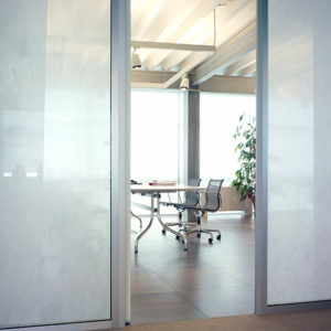 Frosted glass manifestation