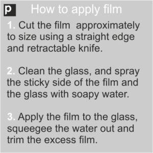 How to apply window film video tutorials