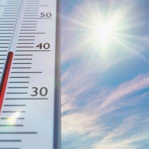 Solar window film to mitigate excess heat