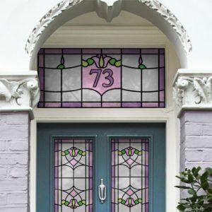 Heritage patterned window film - sullivan
