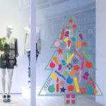 Shop window Christmas display