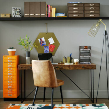 Inspiration for wall storage in home office