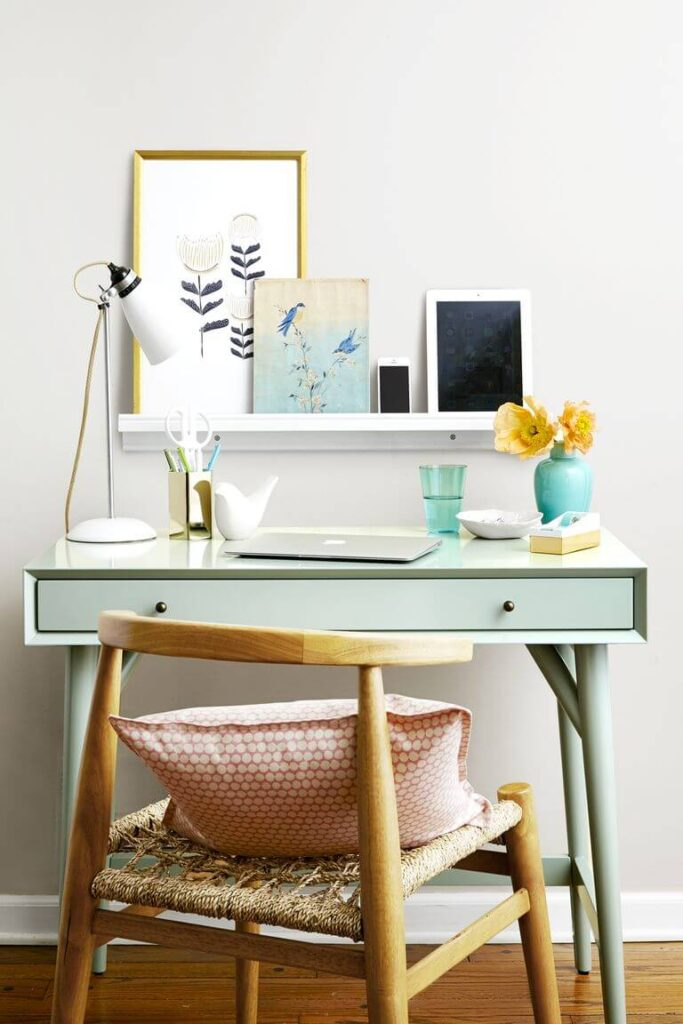 Inspiration for working from home desk and chair
