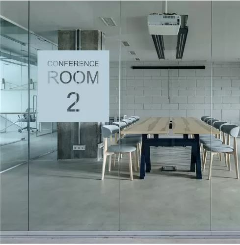 meeting room window films