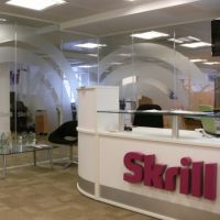 Manifestation and glass partition graphics for Skrill London office.