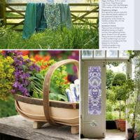 Article in The English Home magazine about Purlfrost window film.