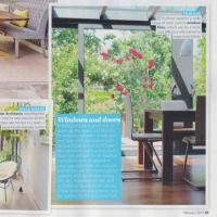 Article in Ideal Home magazine about Purlfrost window film.