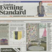 Article in The Evening Standard magazine about Purlfrost window film.