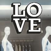 Big Love Sticker
