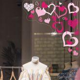 Pink Heart Strings Corner