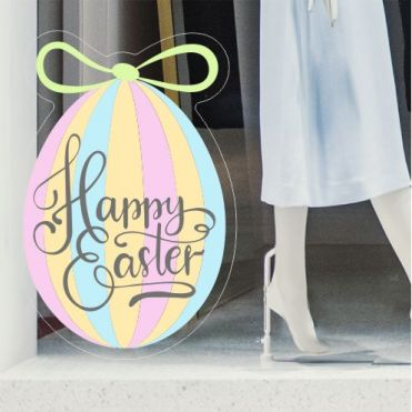 Easter Shop Window Stickers