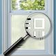 Genesee Window Film Frame