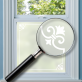 Herkimer Window Film Frame